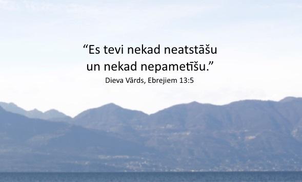 ebrejiem 13-5